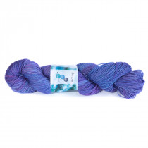 "Handgeverfde Sokkenwol BFL ""Hyacinth"""