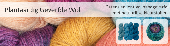 Plantaardig Geverfde Wol